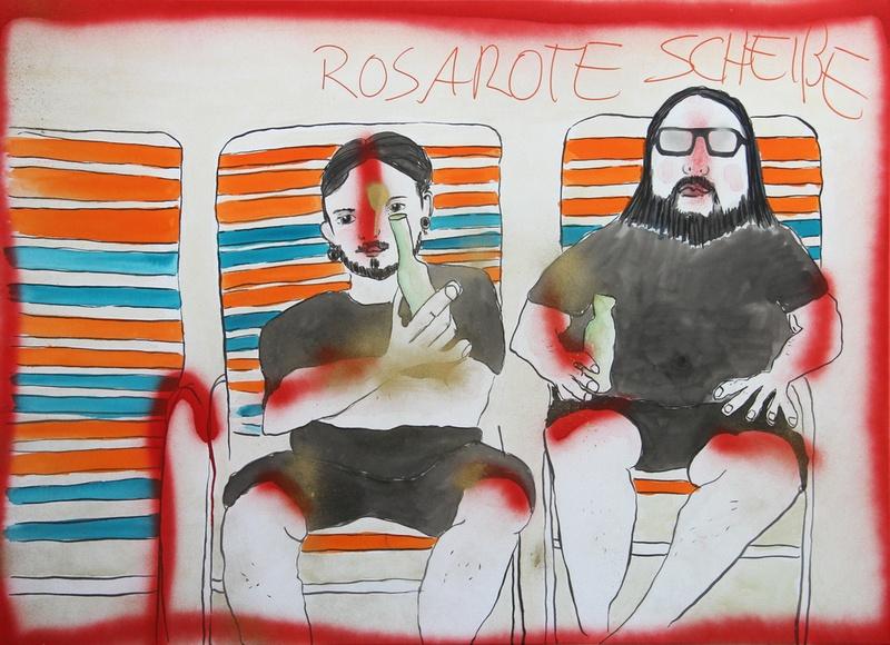 Rosarote Scheiße