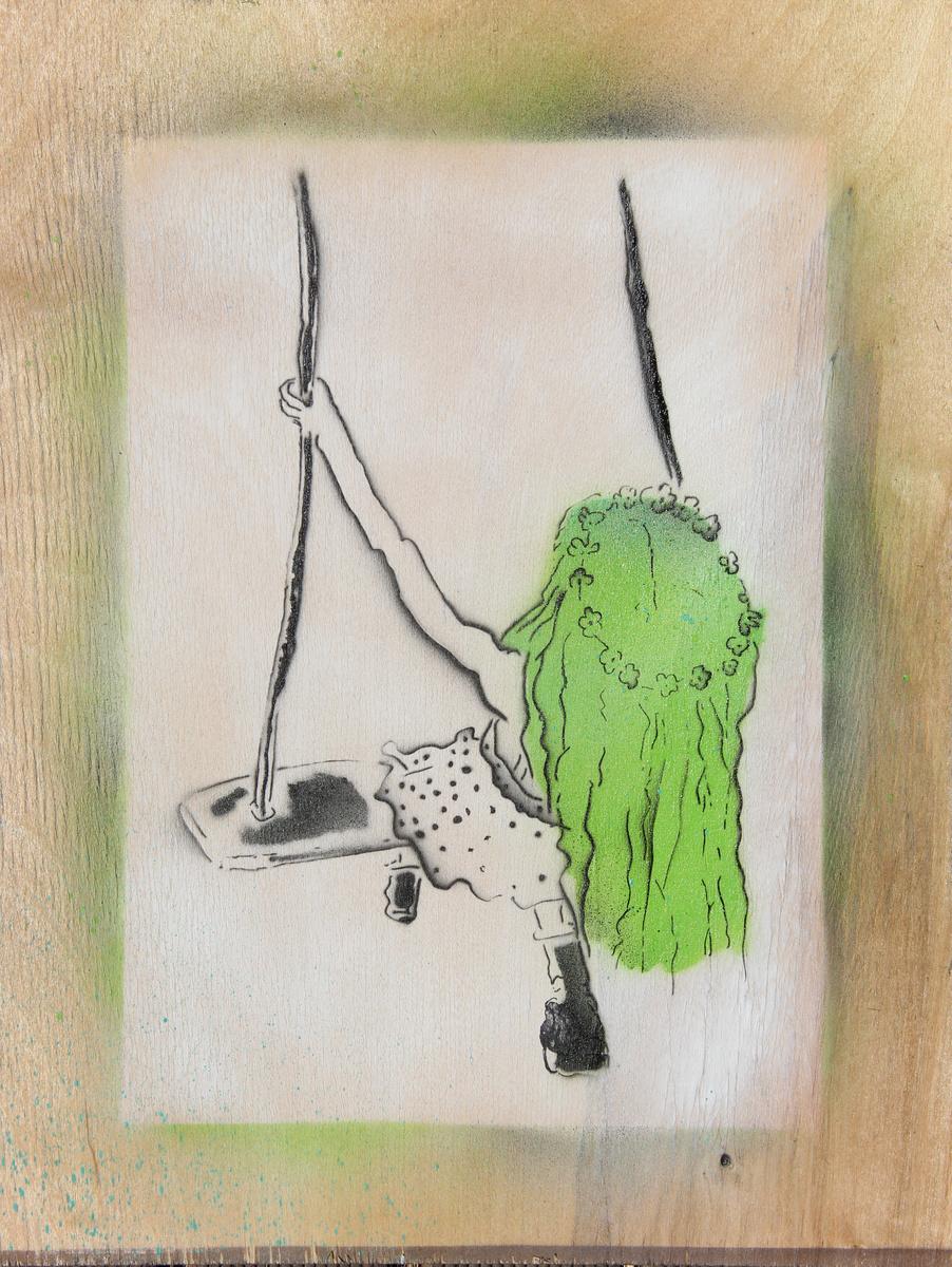 schaukel-grün